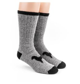 Alpaca DNA Heavy Thermal socks - 80% Alpaca Grey