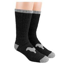 Alpaca DNA Heavy Thermal socks - 80% Alpaca Black