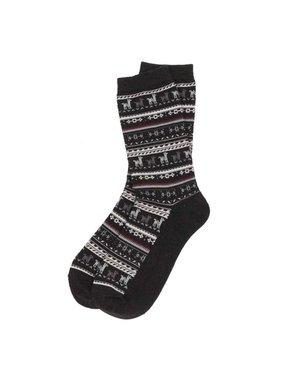 Alpaca PK Alpaca Sock Black  S-M