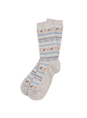 Alpaca PK Alpaca Sock Grey  S-M