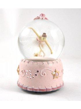 1 Musical Ballerina Waterglobe