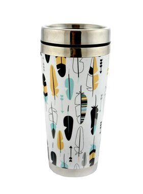 Large coffee thermos Arrows 475 ml