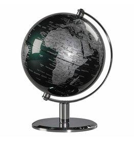 """Globe de bureau 6"""" Vert & Crome"""