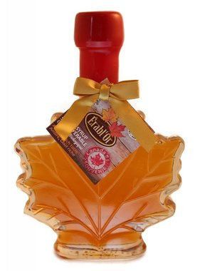 Érable 100% pure maple syrup 100 ml, leaf bottle and Sealed with Wax B15