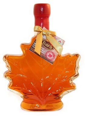 Érable 100% pure maple syrup 250 ml, leaf bottle and Sealed with Wax B14