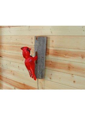 Cardinal Door Knocker