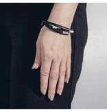 Anne Marie Chagnon Folam bracelet - Pewter