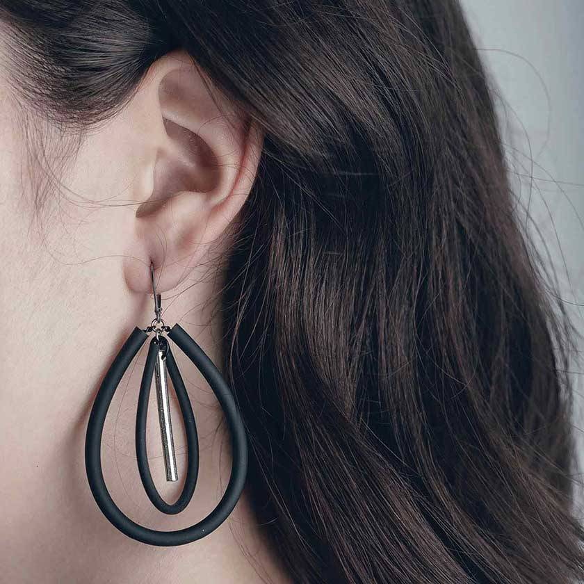 Anne Marie Chagnon Namul earring pewter