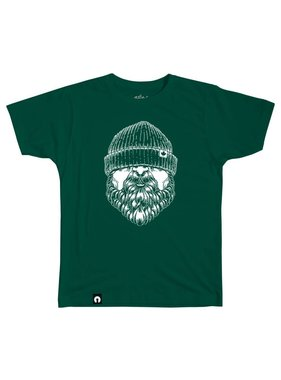 1 The Hipster Beard - Forest green