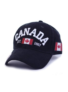 BLACK CANADA CLASSIC 3D EMBROIDERY CAP