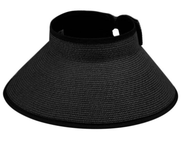 Chapeau sans fond en paille tressé