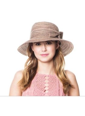 Poly braid bucket sun hat