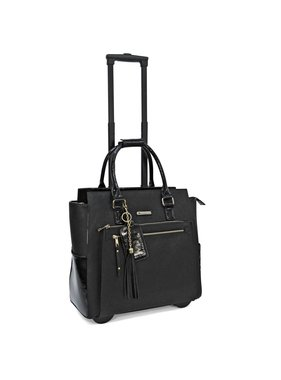 Executive Rolling Briefcase - Paris Patent