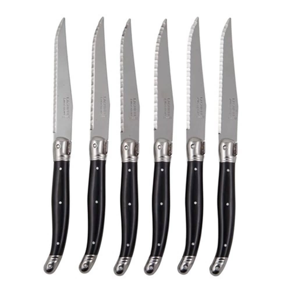 Couteaux à steak Laguiole - Noir