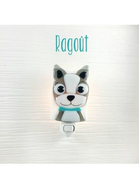 Veille sur toi Veilleuse chien Ragout