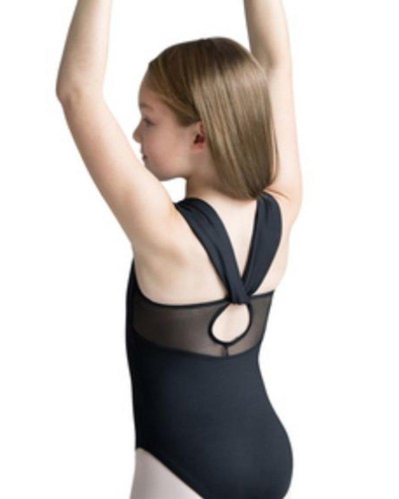 Motionwear Wide Strap Drape Back Leotard
