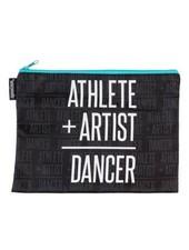 Sugar and Bruno Athlete + Artist Aqua Kiss & Make-Up Bag