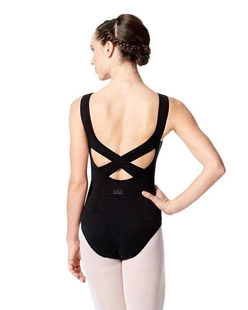 Lulli Aneta Tank Leotard with Cross Strap
