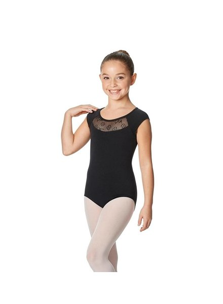 Lulli Harriet Girls Cap Sleeve Leotard