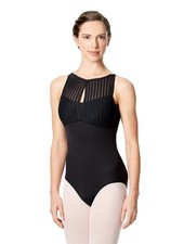 Lulli Elvira High Neck Tank Leotard