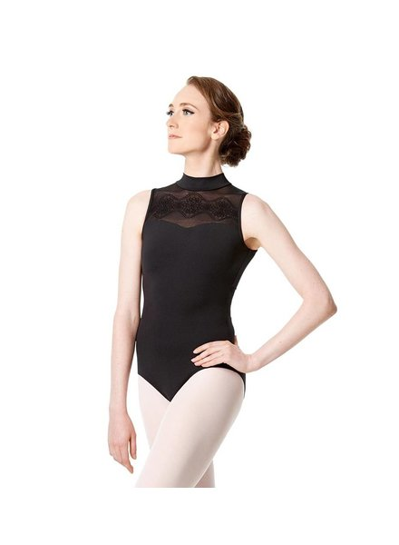 Lulli Marissa Mock Neck Tank Leotard