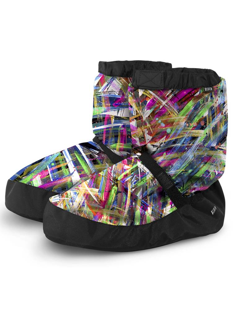 Bloch Warm-Up Printed Booties