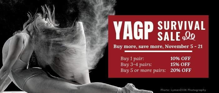 YAGP Survival Sale - Pointe Shoes