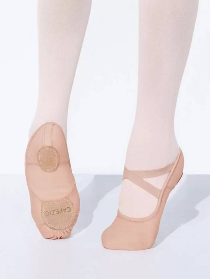 Capezio Adult Hanami Stretch Canvas Ballet Shoe