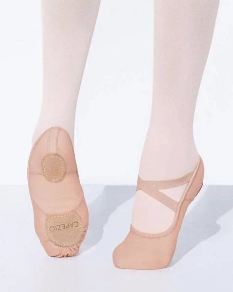 b5895f0b1b15 Kids Hanami Stretch Canvas Ballet Shoe - Allegro Dance Boutique