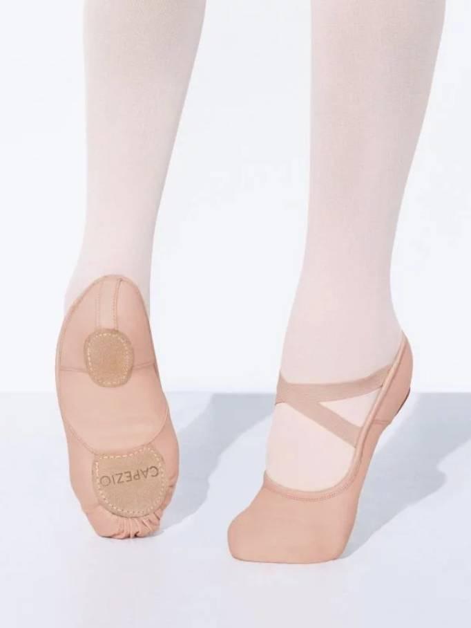 Capezio Kids Hanami Stretch Canvas Ballet Shoe