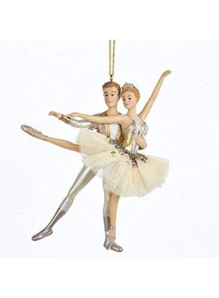 "5.8"" Ballet Couple Ornament"