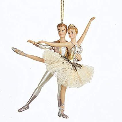 """5.8"""" Ballet Couple Ornament"""