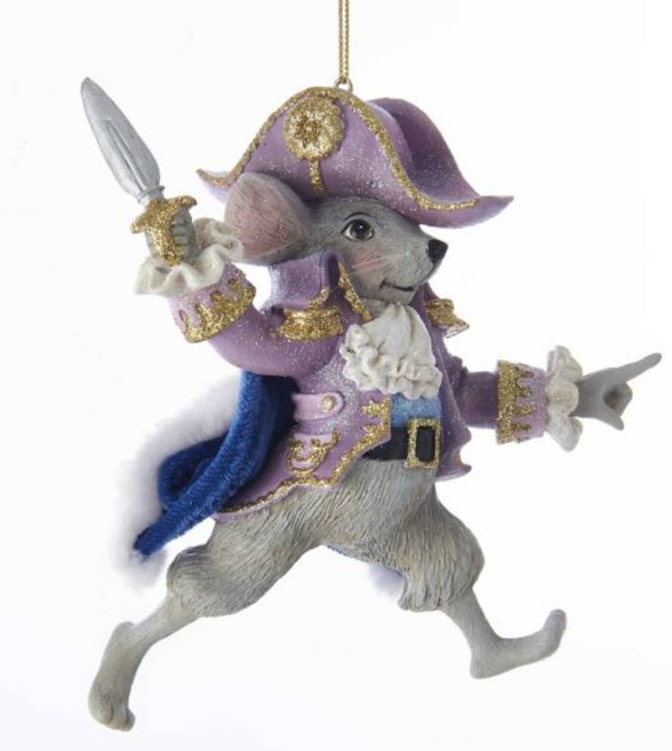 """5"""" Mouse King Ornament"""