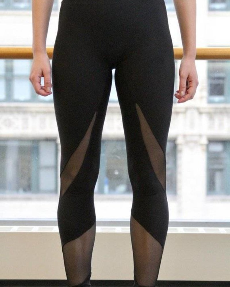 MSeam Mesh Spiral Leggings