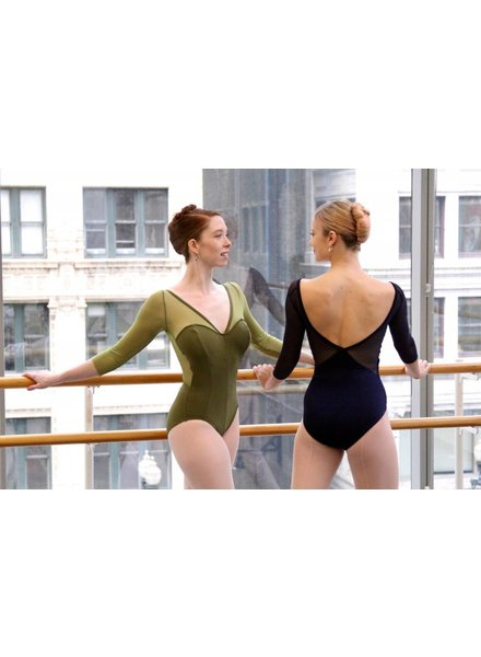 MSeam Princess Long Sleeve leotard