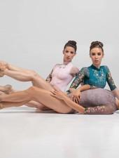 Ballet Rosa Melissa 1/2 Sleeve High Neck Leotard