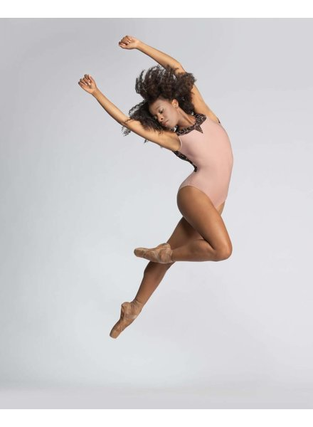 Ballet Rosa Antonia Long Back V Panel Leotard