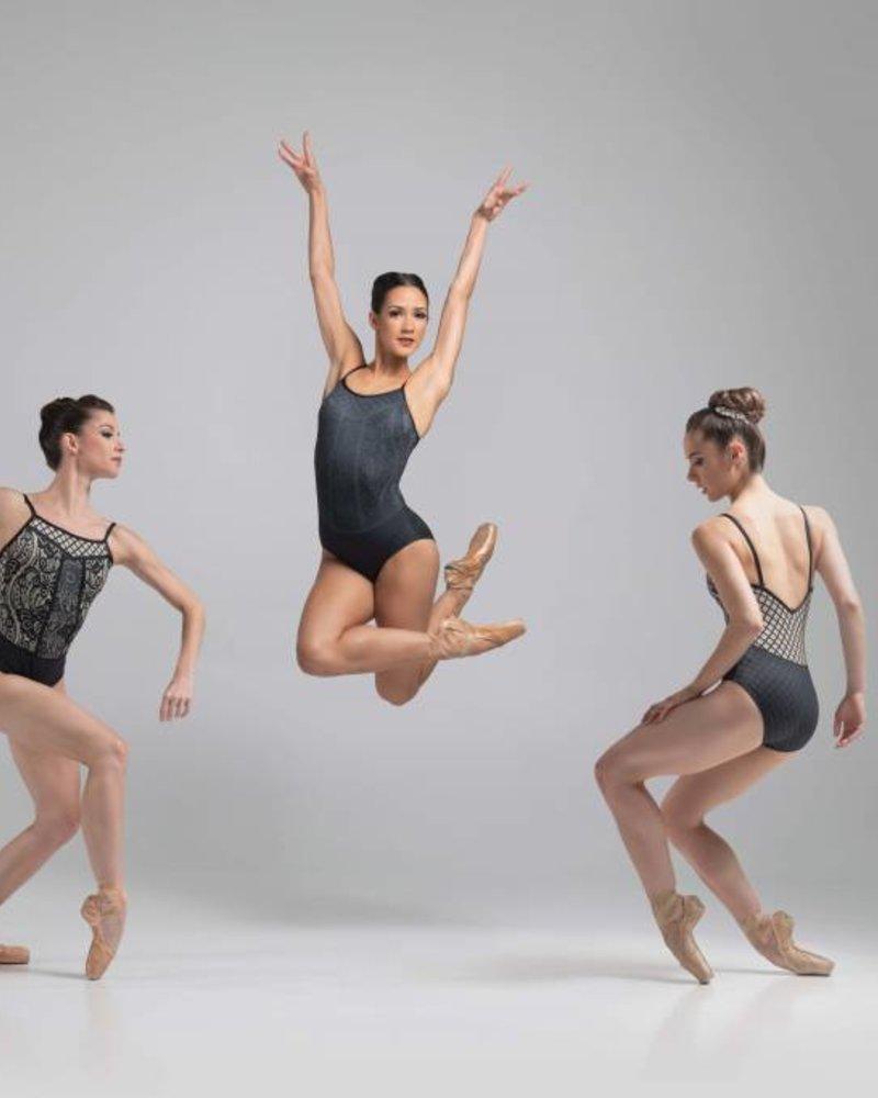 Ballet Rosa Calla Fine Strap V Back Leotard