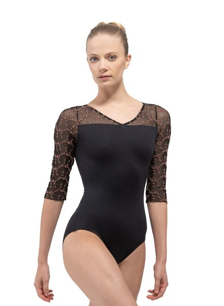 Ballet Rosa Anouk Half Sleeve Leotard