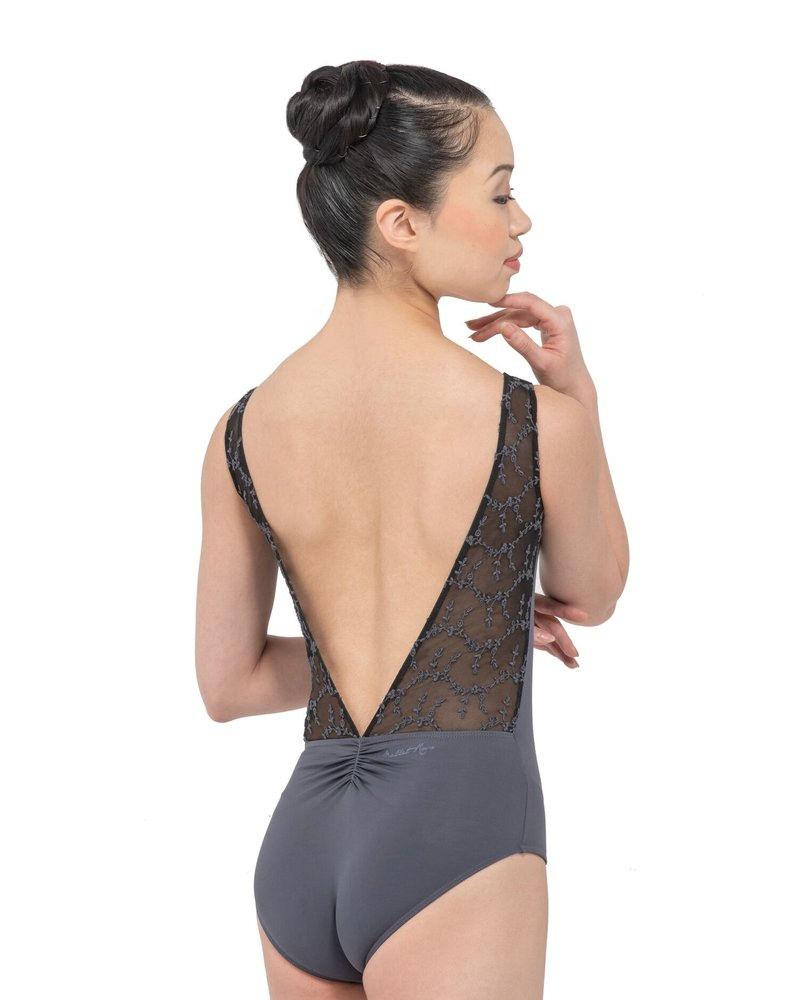Ballet Rosa Antonia Long Back V Panel Leotard
