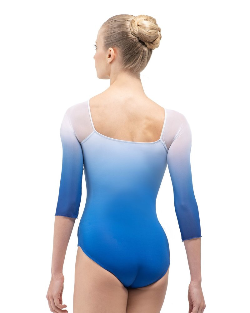 Ballet Rosa Ayala Half Sleeve Square Back Leotard