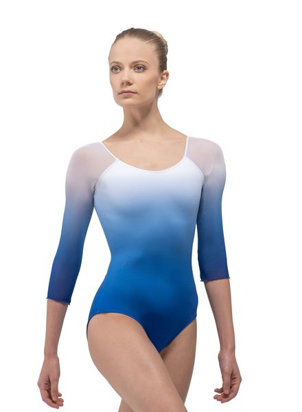 Ballet Rosa Ayala 1/2 Sleeve Square Back Leotard