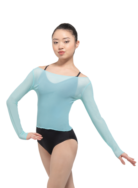 Ballet Rosa Natasha Long Sleeve Top