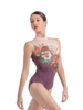 Ballet Rosa Romane Mock Turtle Neck Zip Leotard