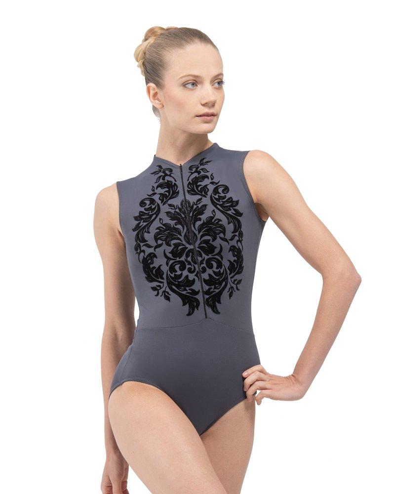 Ballet Rosa Simone Zip Front Leotard