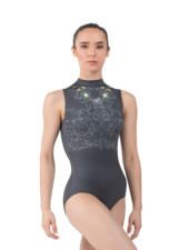Ballet Rosa Venus High Neck Leotard