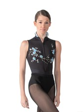 Ballet Rosa Ciaravola Zip Front Leotard