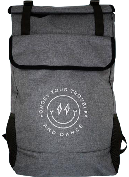 Covet Dance Forget Your Troubles Roll-Top Backpack