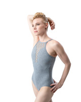 So Danca High Neck Camisole Leotard