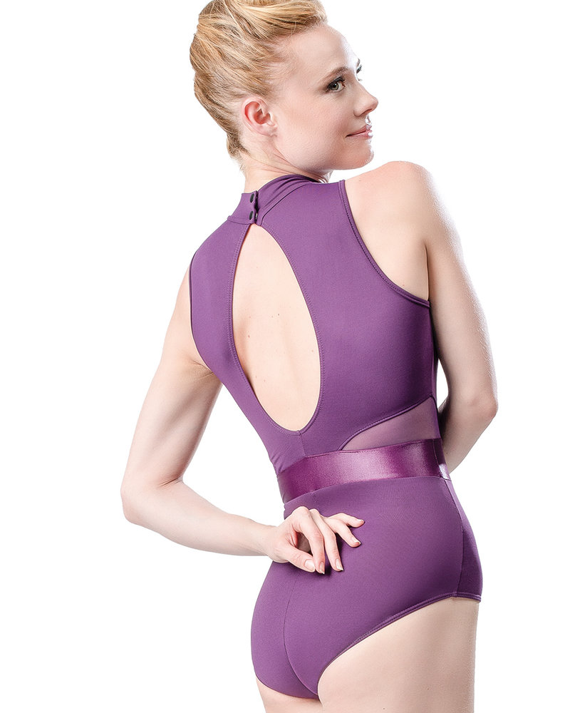 So Danca High Neck Keyhole Leotard